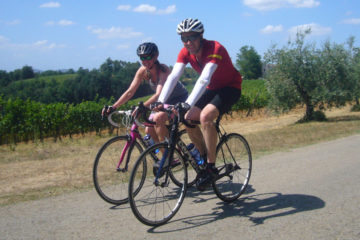 Tuscany road bike tour
