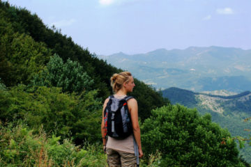 hiking and mountain biking near Florence