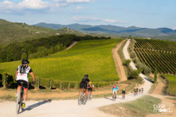 Tuscany guided bike tour