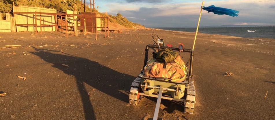 IL MARE D'INVERNO | TREKKING CON L'ARMADILLO