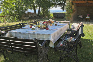 typical Tuscan Farmhouse lunch