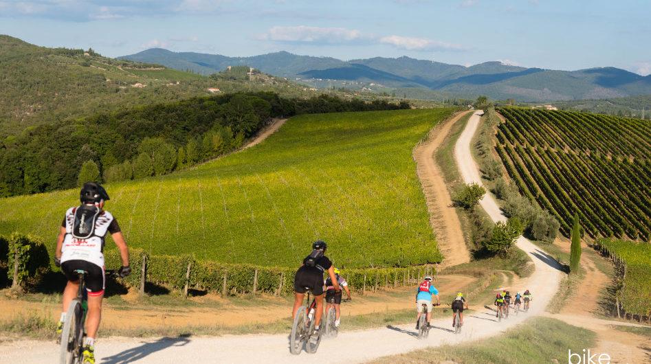 vacanza avventura in bici sull'eroica