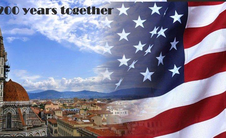 americani a Firenze