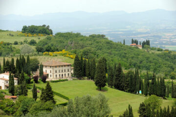 luxury resort near florence